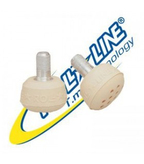 ROLL-LINE SUPER JUMP CAPUCCINO TOE STOPS (PAIR)
