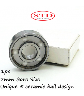 STD SKATES 627 5 BALLS CERAMIC BEARINGS ABEC 7