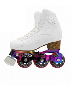 STD STARLIGHT INLINE FIGURE SKATE+RISPORT ROYAL PRO