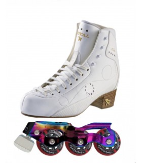 STD SKATES STARLIGHT+RISPORT ROYAL ELITE