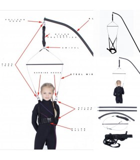 HARNESS FOR FIGURE SKATING
