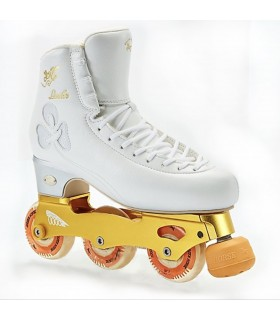 INLINE SKATE GOLDEN HORSE LEADER