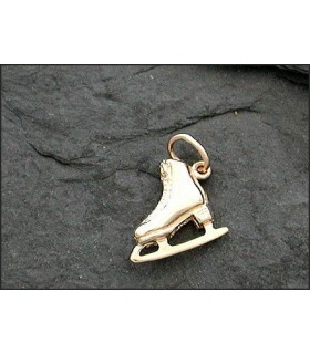 JEWELRY-LITTLE STERLING SILVER SKATE
