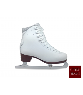 FIGURE SKATES STIFELD LYSSE WITH MK FLIGHT BLADES