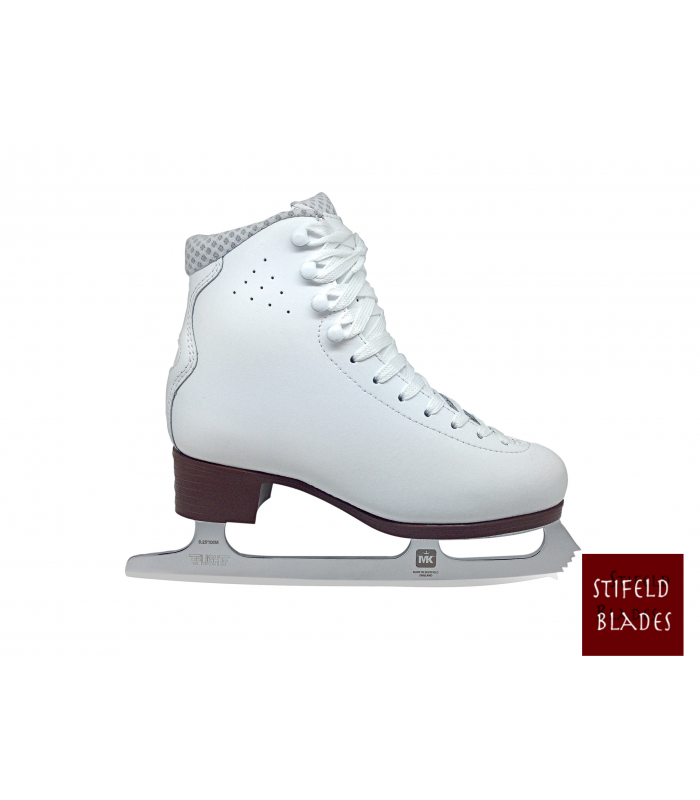 FIGURE SKATES STIFLED LYSSE WITH MK FLIGHT BLADES